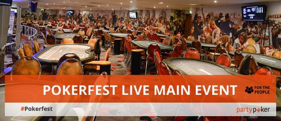 Pokerfest live main event live updates