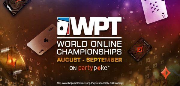 WPT® World Online Championships Returns To partypoker