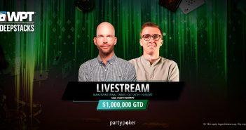 WPTDeepStacks Main Event live stream